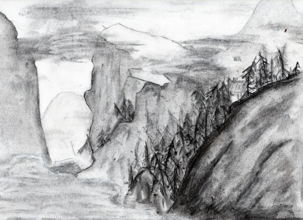 Charcoal Mountains, Rendition of Ma Lin's Work